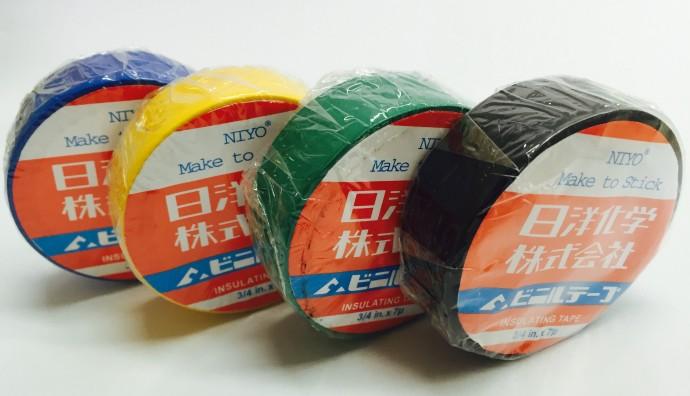 NIYO INSULATION WIRE TAPE (COLOURS)